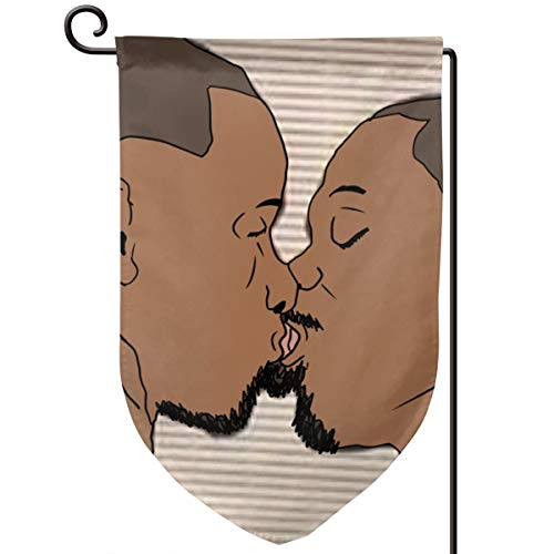 TY111 Brokeback Mountain Gay Double Sided Garden Flag 12.5 X 18 Inch Outside Banner