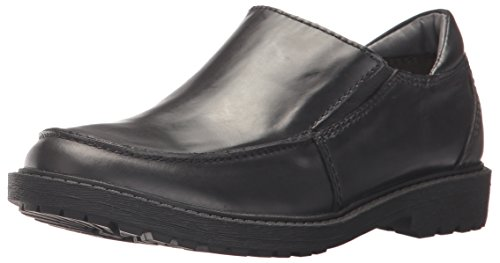Kenneth Cole REACTION Boys' Strada Slip, Black, 6 M US Big Kid