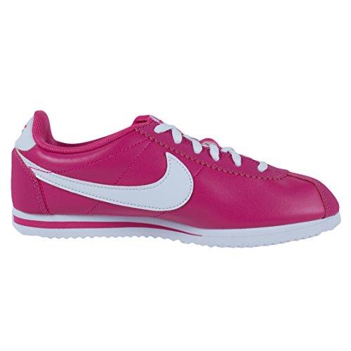 Nike Cortez (Gs), Zapatillas de Running para Niños VIVID PINK/WHITE
