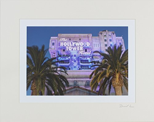 disney-california-adventure-park-hollywood-pictures-backlot-tower-of-terror-night-exterior-matted-ph