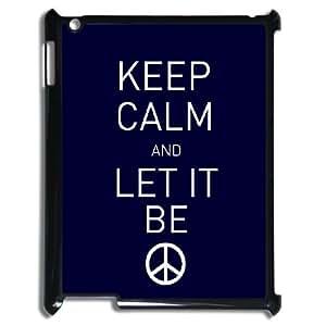 Keep Calm CustomPattern Hard Snap Phone Case For Ipad Case 2,3,4TSL163407