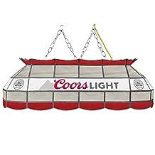 Trademark Gameroom Coors Light Handmade Tiffany Style Lamp - 40 Inch