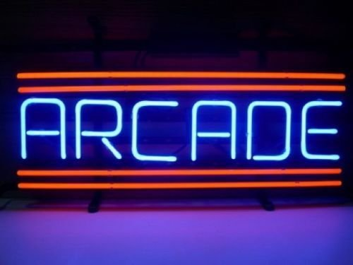 Urby™ 17×14 A rcade Game Room Custom Handmade Real Glass Neon Sign Beer Bar Light 3-Year Warranty-Excellent  Unique Handicraft! U76