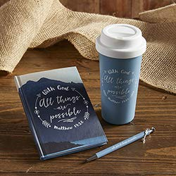 US Gifts with God All Things are Possible Arrow Charm Pen - 8/pk by US Gifts (Image #1)