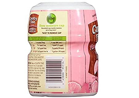 Amazon Country Time Pink Lemonade Drink Mix Makes 8 Quarts