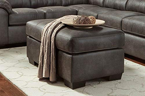 Chelsea Home Cocktail Ottoman in Sequoia Ash