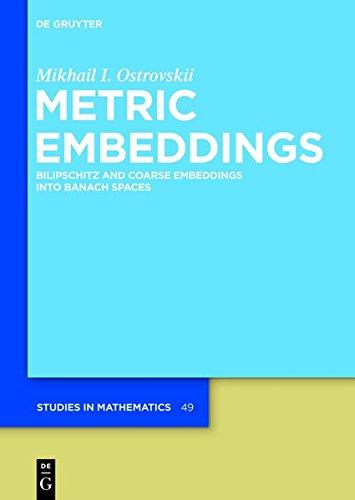 Metric Embeddings (de Gruyter Studies in Mathematics)