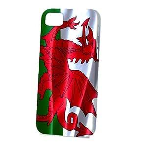 linJUN FENGCase Fun Apple iphone 6 plus 5.5 inch Case - Vogue Version - 3D Full Wrap - Flag of Wales