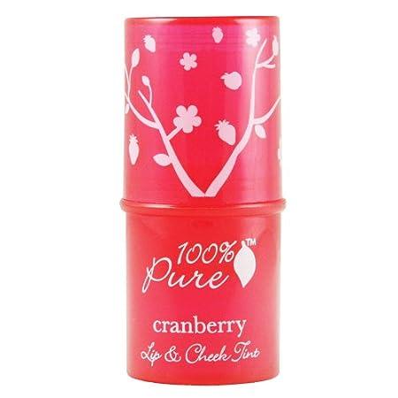 100% Pure Pink Grapefruit Glow Lip & Cheek Tint, .26 oz 1CCTPiG
