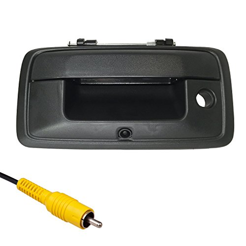 Chevy Chevrolet Silverado 1500 Tailgate (Master Tailgaters Chevrolet Silverado/GMC Sierra 2014-2015 Black Tailgate Backup Reverse Handle with Camera)