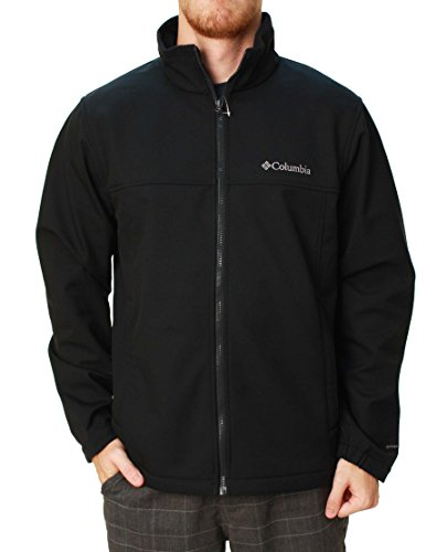 Columbia Men's Mt. Village Softshell Jacket-Black-Small