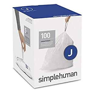 Amazon.com: Simplehuman Code E - Bolsas de basura con cordón ...