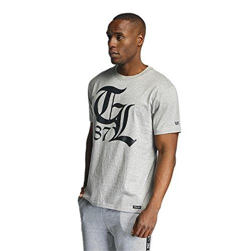 Thug Life Herren Oberteile / T-Shirt Mellow grau 2XL
