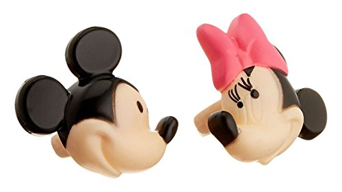 Minnie and Mickey Mouse 24-Piece Decorative Cake Cupcake Ring Toppers from Unknown