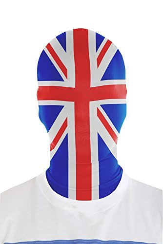 Red And White Morphsuit (Morphsuits Morphmask Flag Union Jack, Red / Blue / White, One Size)