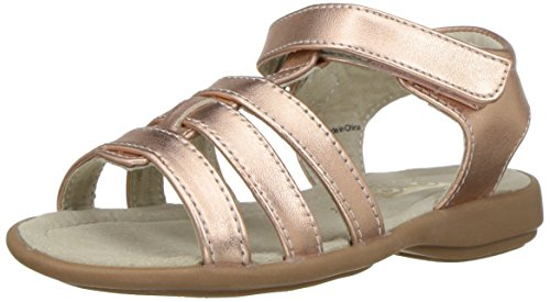 See Kai Run Girls' Fe Sandal, Rose Gold, 8 M US Toddler