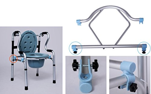 Mxxyy Elderly Folding Lightweight Walking Chair Aluminium