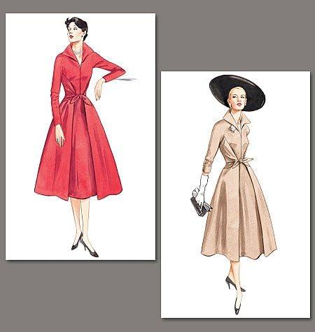 Vogue Schnittmuster 2401 Damen Kleid Gr/ö/ße 44