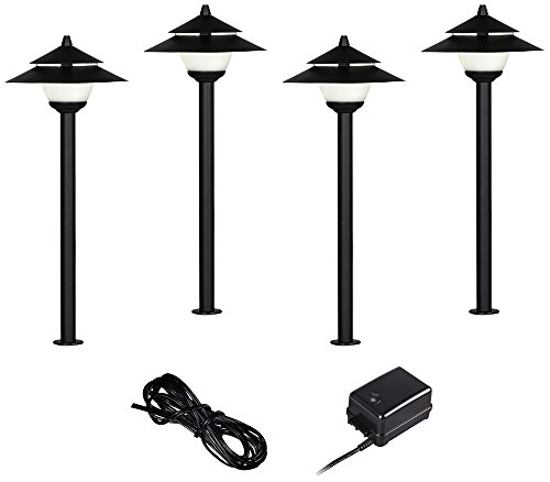 Pagoda Landscape Lighting Kits - 8