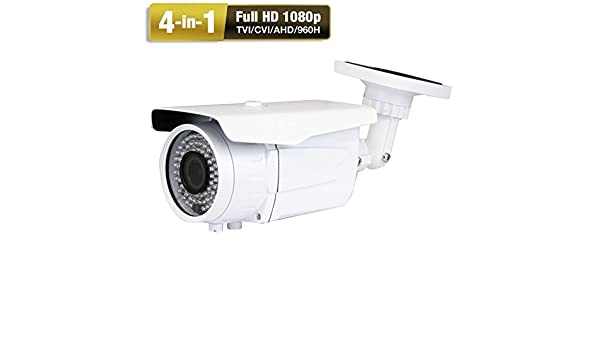 AM Top~End 1800TVL 2.8-12mm Lens Zoom   Bullet CCTV Outdoor Security Camera