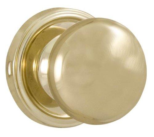 Dummy Spindle (Weslock 00605I3-0020 Impresa Knob, Polished Brass)