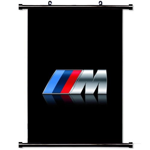 Art Poster with Bmw M Series Logo Car Wall Scroll Poster Fab