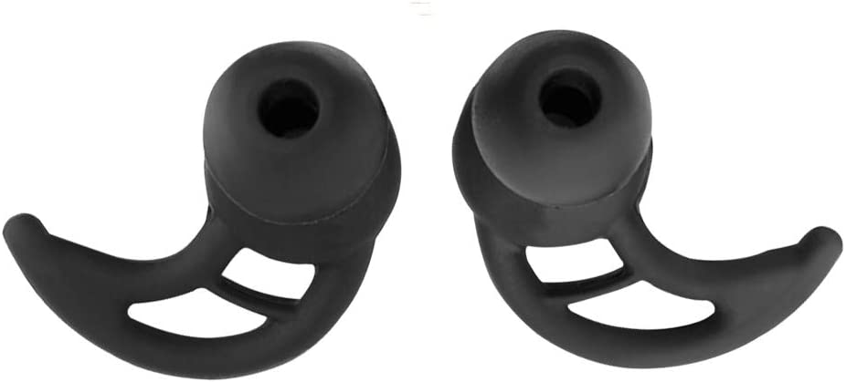 Meijunter Replacement Earbuds Tips for Sony WF-1000XM3//WI-1000X Silicone Antislip Earhooks Ear Loops 2 Pairs 4 Pieces