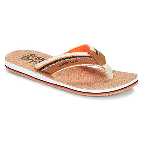 W2u 39 Eu linear Roller Superdry 41 tan Uomo Infradito Cork Flip Flop orange Multicolore 1ZZgvq