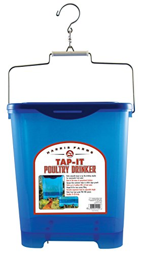 Harris Farms Tap-It Poultry Drinker, 4 gallon (Easy Fill Drinker)