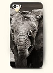 OOFIT Phone Case design with Elephant Playing its own Nose for Apple iPhone 5 5s 5g