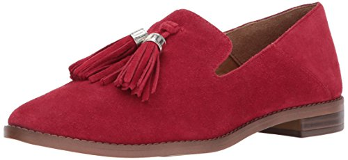Franco Sarto Women's Hadden Loafer Flat, Vintage Red, M US