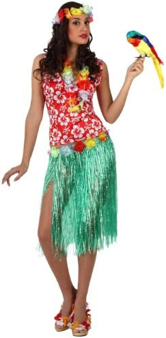 Atosa - Disfraz de hawaiana para hombre, talla M/L (10096): Amazon ...