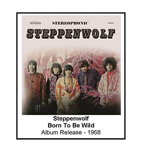 Steppenwolf 1968 Born To Be Wild Album Cover 3