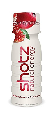 Shotz Natural Energy 12 Count Pomegranate