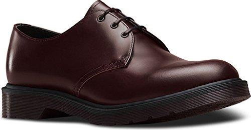 Dr. Martens - Hombres 1461 3 Eye Shoe Merlot