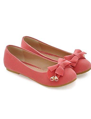Mujer Rosa Eu39 Eu36 Tac¨®n Zq Zapatos Peach Semicuero Yyz Cn36 Cn39 us8 Puntiagudos Amarillo Plano Planos Uk4 De us6 Uk6 Orange Naranja Rojo Casual xw1PtqIa1
