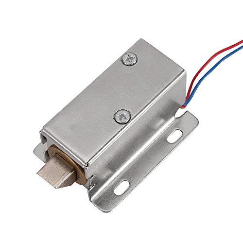 DC 12V Solenoide Electromagnética–Cerradura Eléctrica Para clóset Cajón