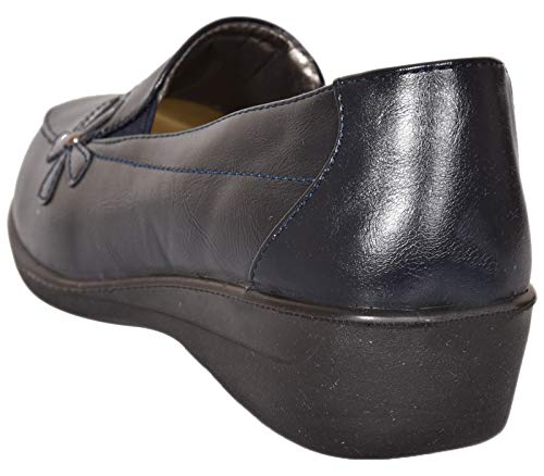 Shoe Tree navy Corfu Comfort Donna Balletto ddwr1q