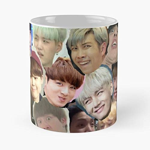 Amazon com: Bts Merch Kpop Jimin - Best Gift Coffee Mugs