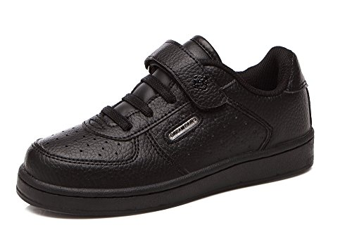 DREAM PAIRS Toddler Boys' 151020-K Black School Loafers Sneakers Shoes - 7 M US Toddler