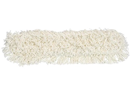 Ming Floor - MING DA Professional Industrial Class Cotton Floor Mop for Hardwood,Office,Garage Care,High-intensity Aluminum Telescopic Handle,Dry & wet cleaning Included 3 cotton Mop Heads