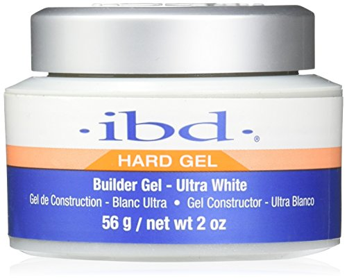 IBD 60404 Builder Gel-Ultra, White, 2 Ounce