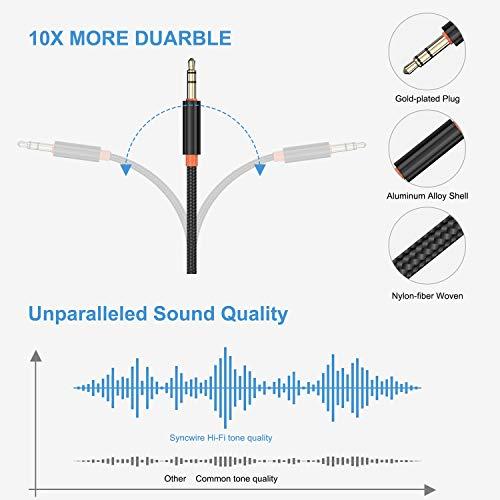 Trasmettitore Ricevitore Bluetooth , Adattatore Bluetooth Auto Usb 5.0 con 300mAh Batteria , Adattatore Cuffie Wireless 3,5 mm AUX per tv,PC,Amplificatore , Auricolari