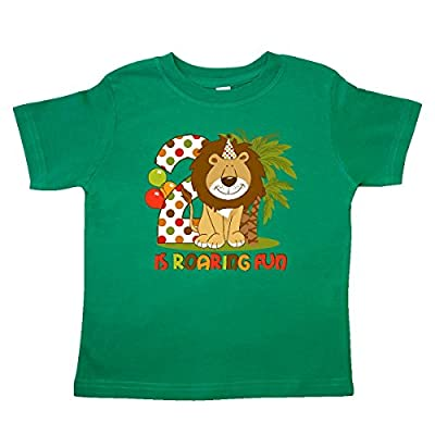 Inktastic Little Boys' Cute Lion 2nd Birthday Toddler T-Shirt 4T Kelly Green