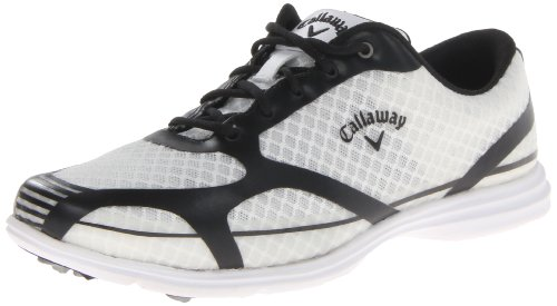 Callaway Women's Solaire Golf Shoe,White/Black,6.5 M US