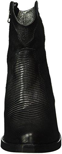 HIP D1072, Zapatillas De Estar por Casa para Mujer Negro