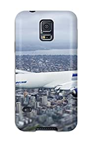High-quality Durable Protection Case For Galaxy S5(seattleeahawksirlineroeing Plane Aircraft Airplane )