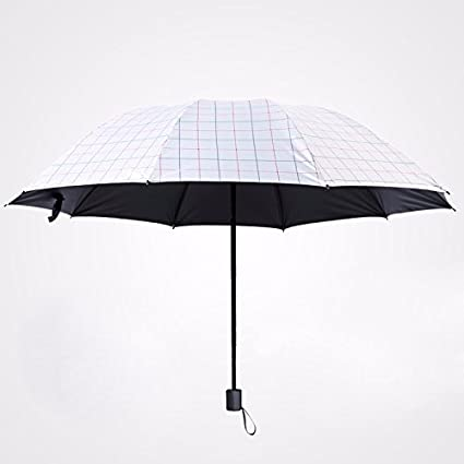SSBY Paraguas Plegable Paraguas Paraguas De Sol Sombrilla Todo Tipo De Clima Anti - Uv Paraguas
