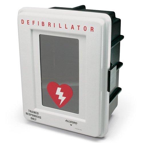 Allegro Industries 4400‐DA Plastic Defibrillator Wall Case with Alarm 4400-DA