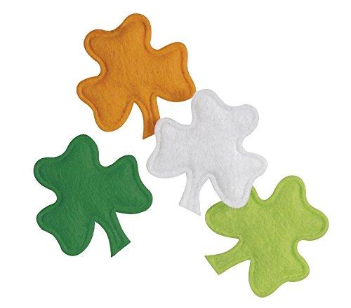 [St. Patrick's Day Shamrock Felt Confetti, 20ct] (St Patricks Day Shamrocks)